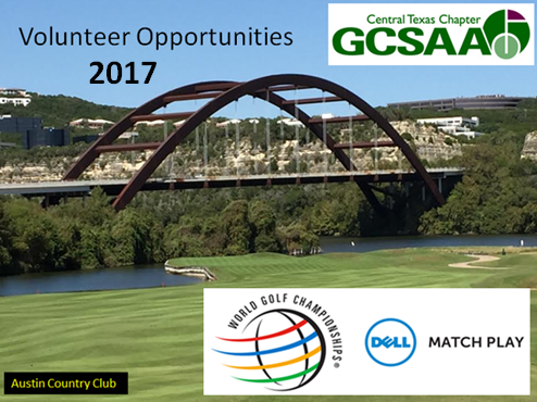 Volunteer Opportunities – WGC Dell Match Play