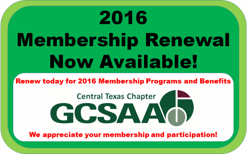 2016 Membership Renewal Now Available Online