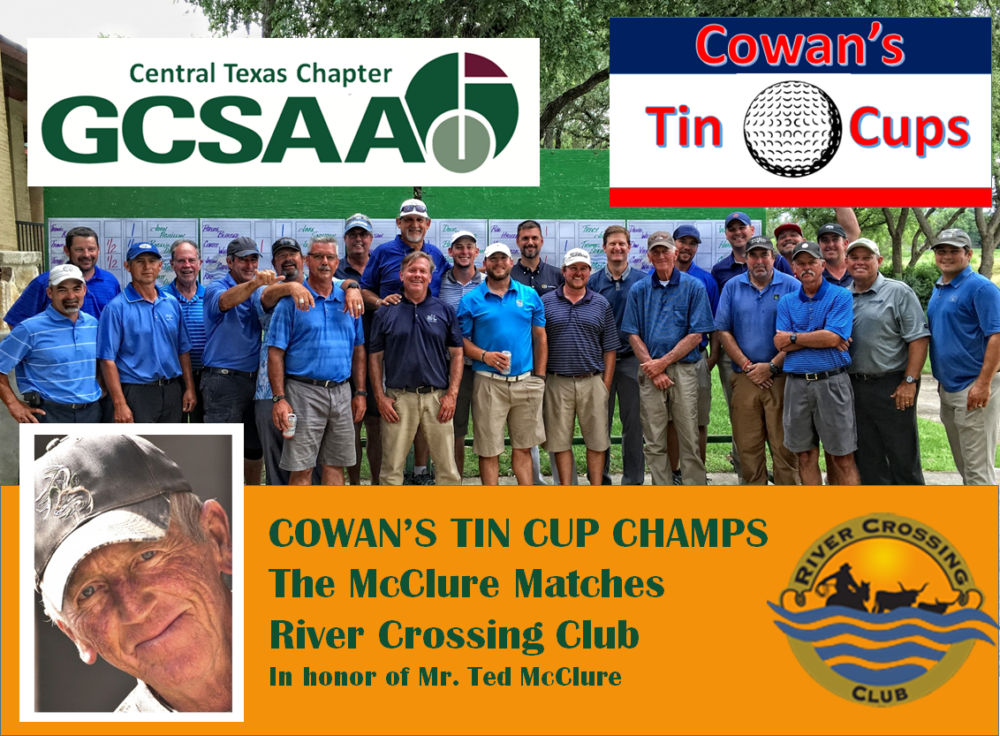 Inagural McClure Match Champions – Cowan's Tin Cups. Photos Available!
