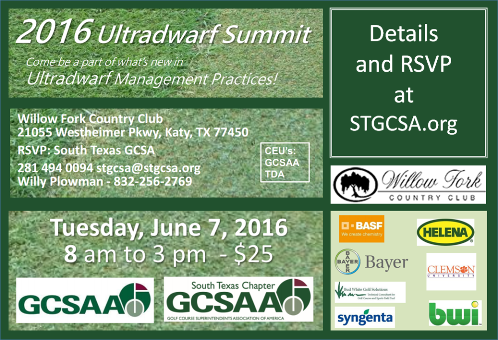 Ultradwarf Summit – June 7, Katy, TX, Click Here – Central ...