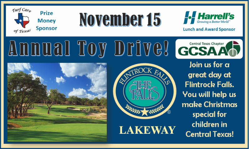 Toy Drive at Flintrock Falls! – Central Texas GCSA